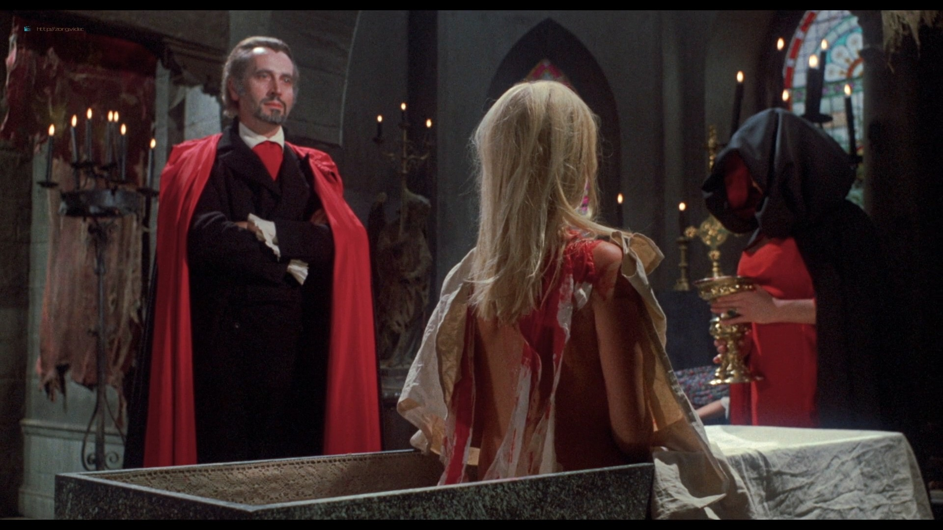 Suzanna Leigh nude Sue Longhurst and others nude topless - Lust for a Vampire (1971) HD 1080p BluRay (12)