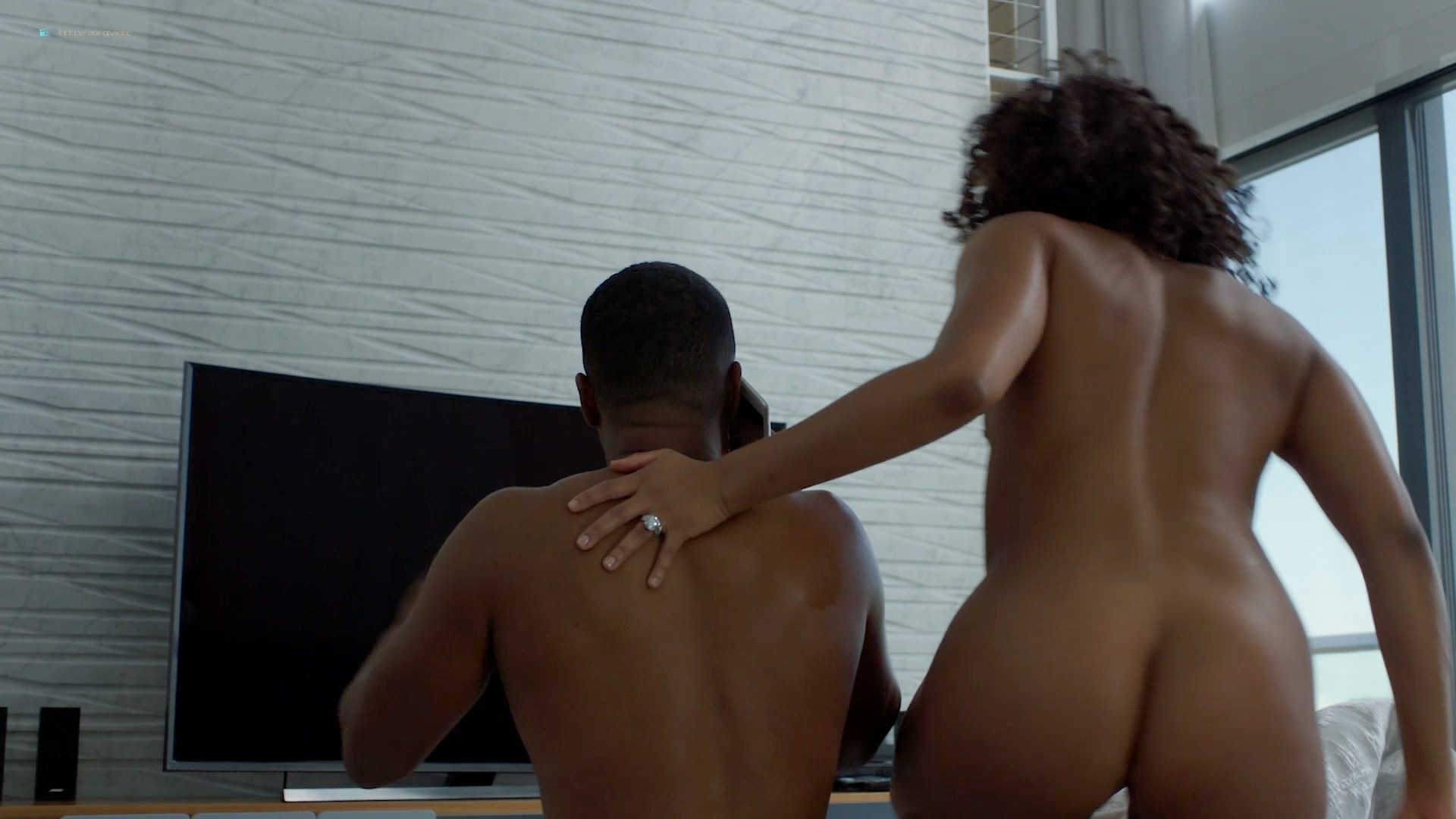 Candace Maxwell nude hot sex doggy style - Power (2019) s6e3 HD 1080p Web (9)
