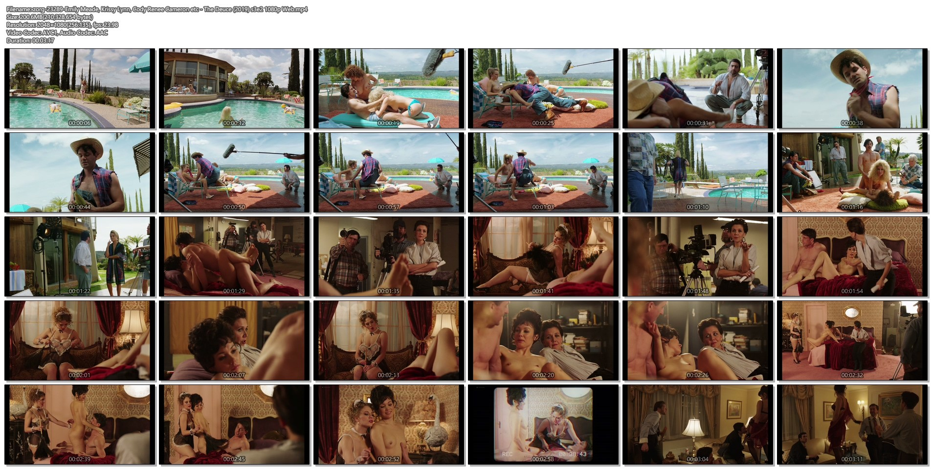 Emily Meade nude sex Krissy Lynn and others nude sex too - The Deuce (2019) s3e2 1080p Web (1)