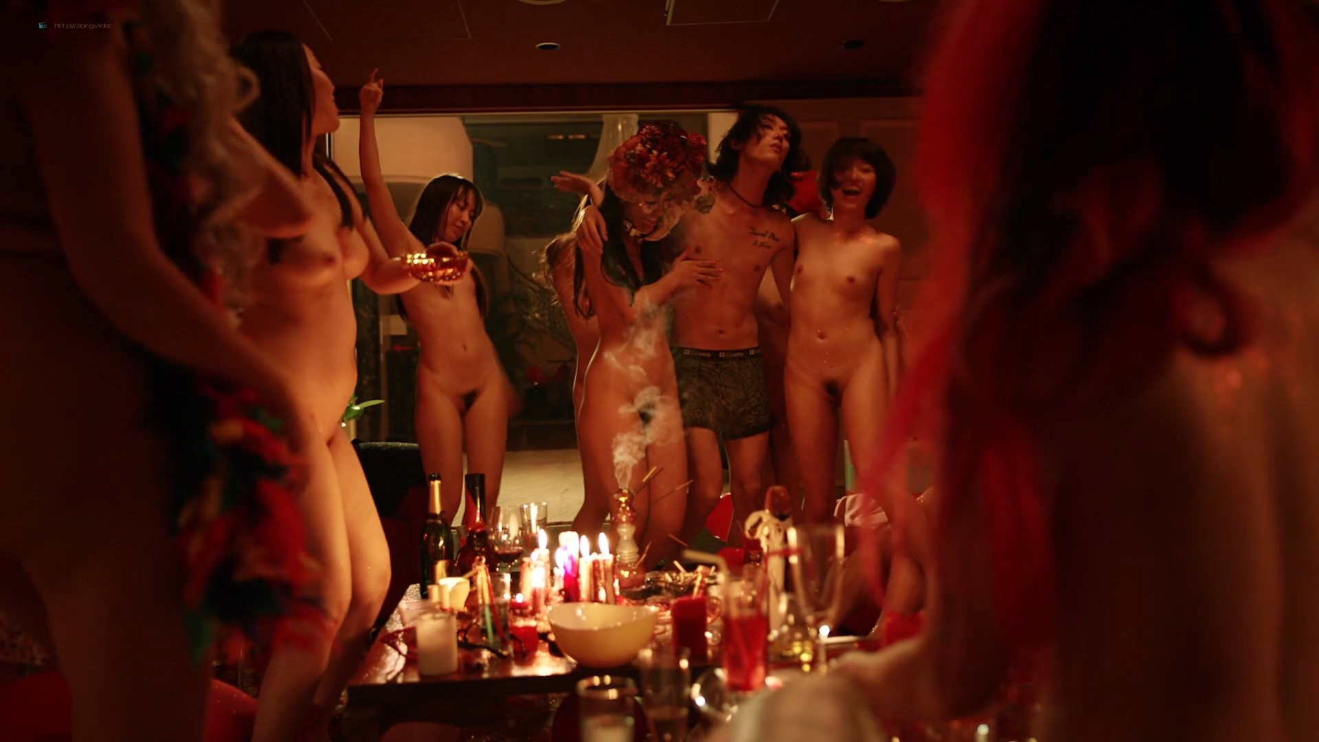 Haruka Abe nude full frontal Tao Okamoto and others nude too - Shes Just A Shadow (2019) BluRay (3)