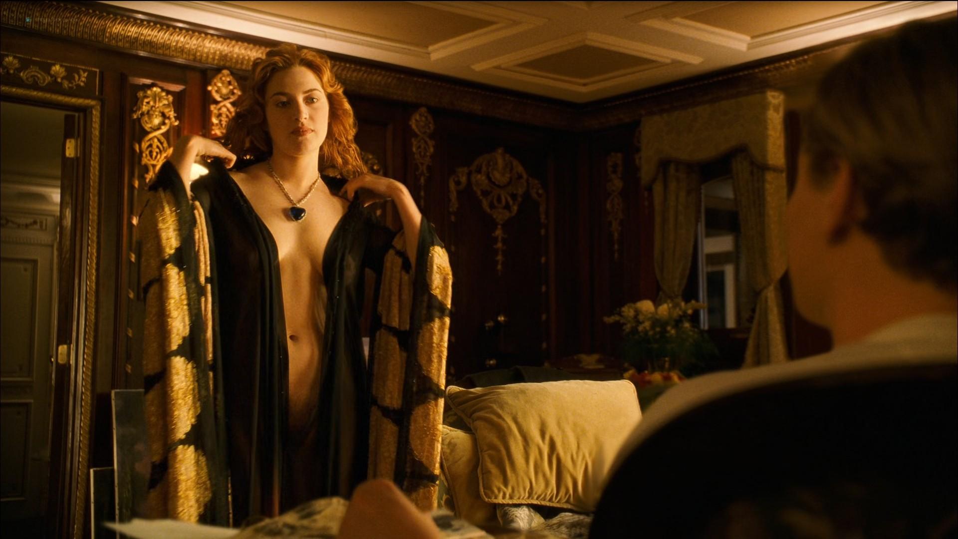 Kate Winslet nude topless - Titanic (1997) HD 1080p BluRay (11)