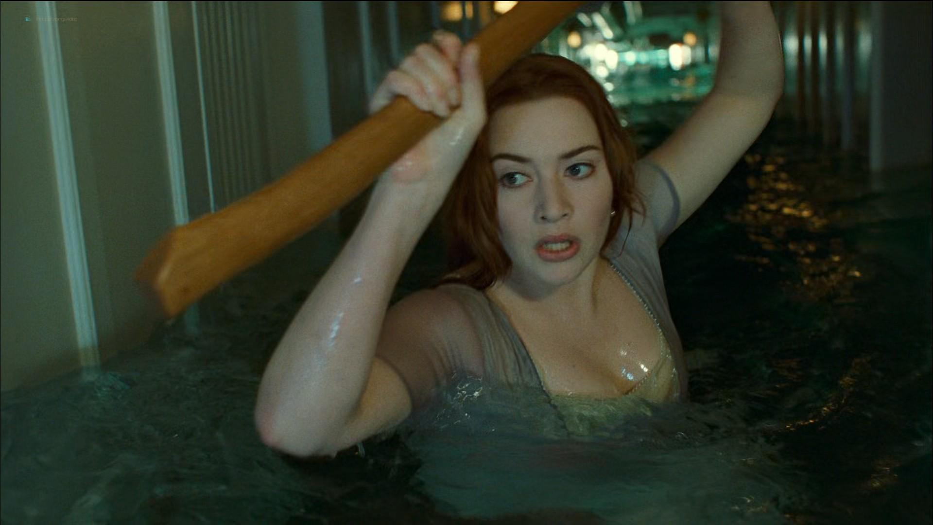 Kate Winslet nude topless - Titanic (1997) HD 1080p BluRay (2)