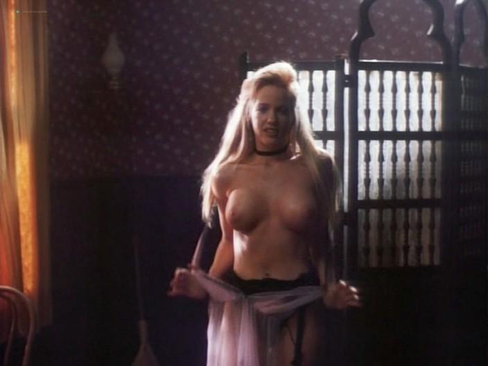 Kelly LeBrock hot Kimberly Kelley and Rochelle Swanson nude - Hard Bounty (1995) (19)