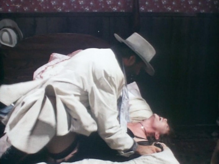 Kelly LeBrock hot Kimberly Kelley and Rochelle Swanson nude - Hard Bounty (1995) (11)