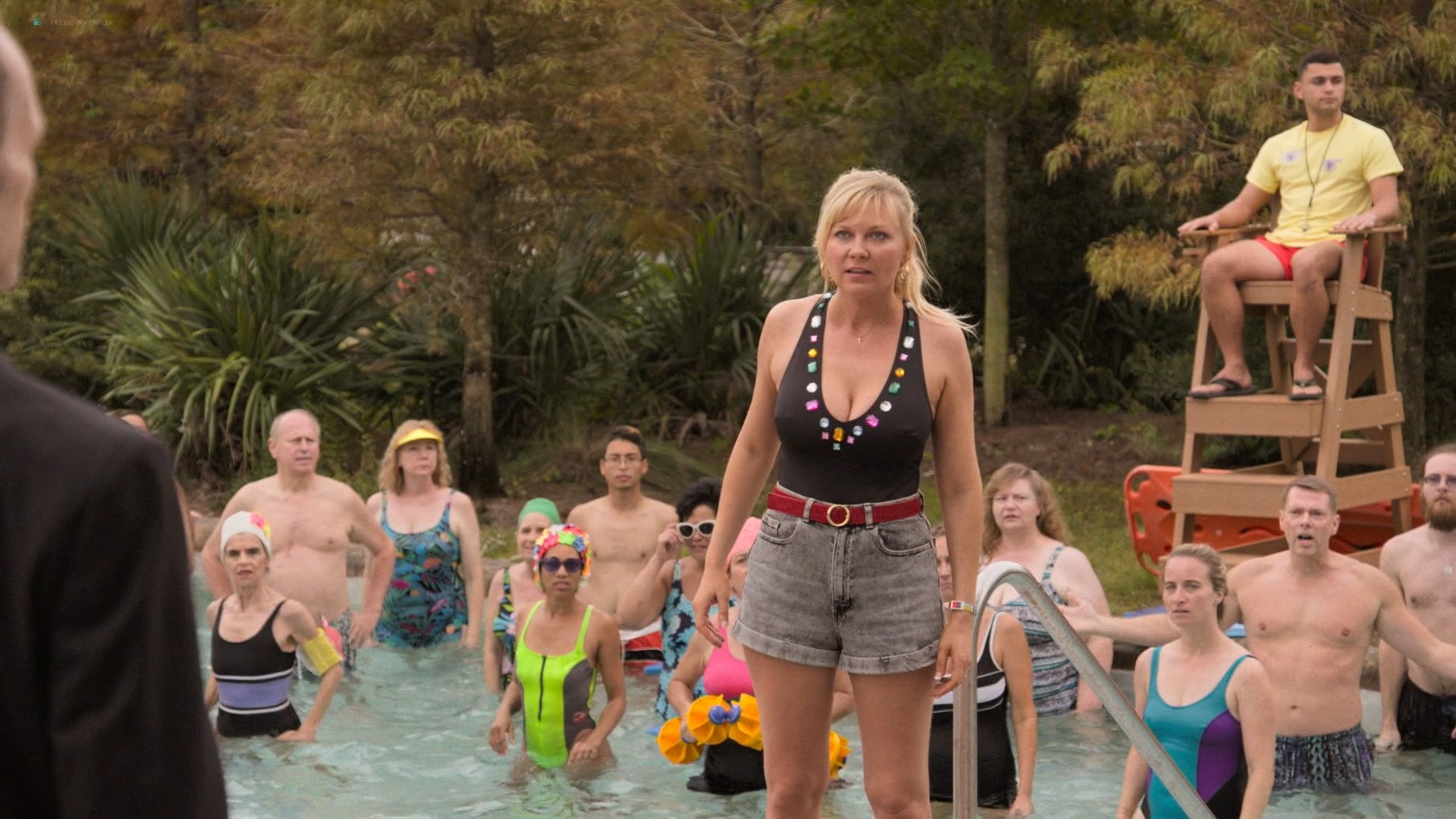 Kirsten Dunst hot and sexy - On Becoming a God in Central Florida (2019) s1e4 HD 1080p (6)
