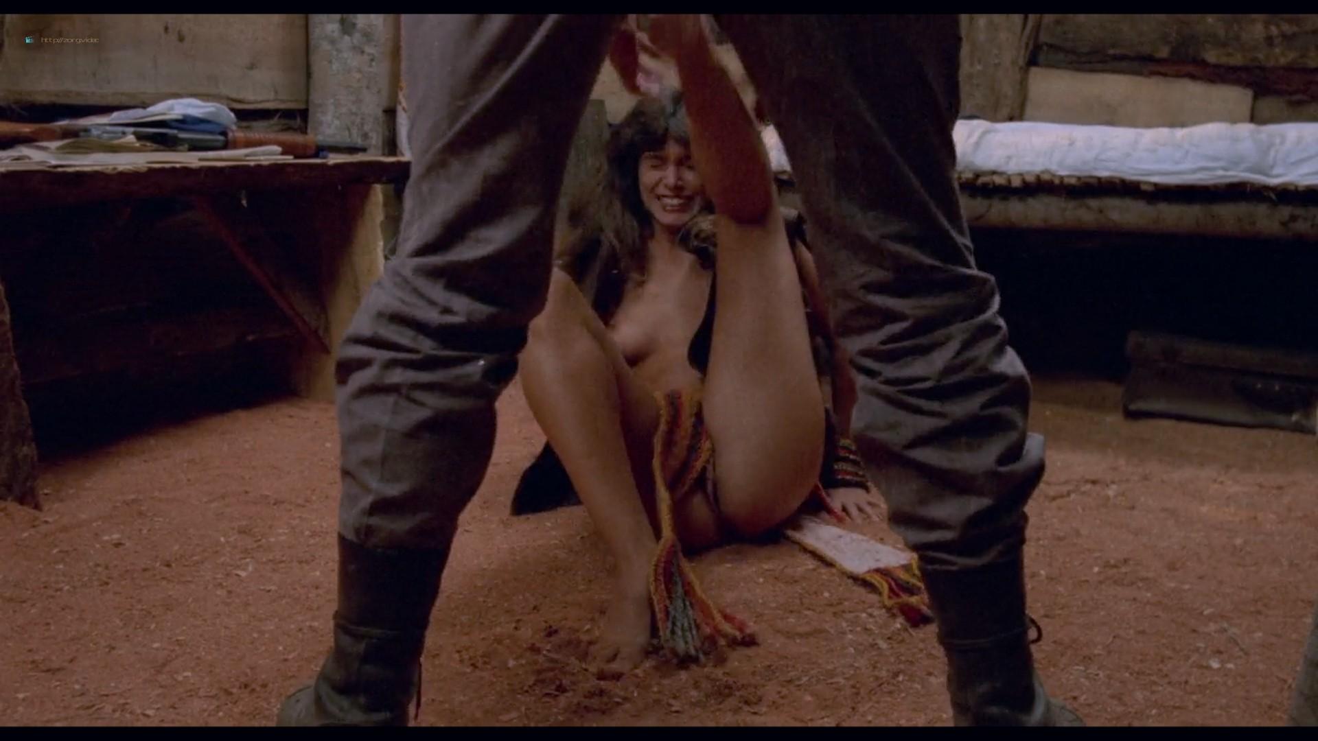 Suzane Carvalho nude bush Susan Hahn nude too - Massacre in Dinosaur Valley (BR-1985) HD 720p (2)