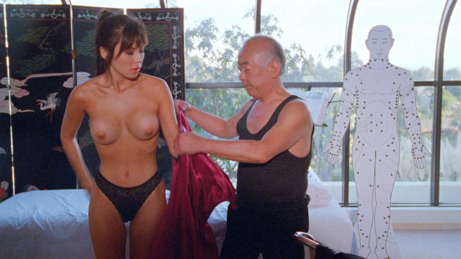 Dona Speir nude Pandora Peaks, Carolyn Liu and others nude too - Do or Die (1991) 1080p BluRay (18)