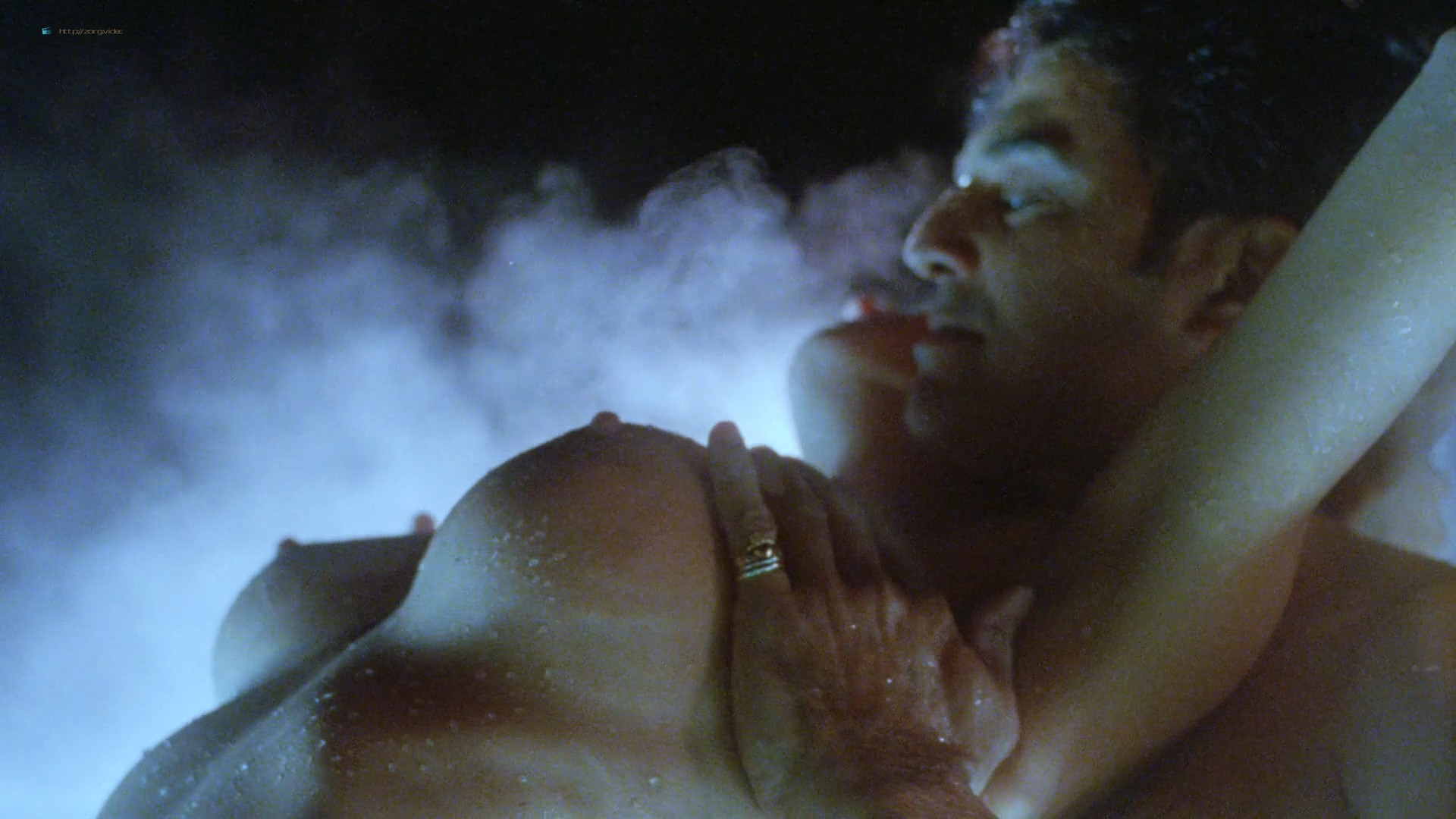 Dona Speir nude Pandora Peaks, Carolyn Liu and others nude too - Do or Die (1991) 1080p BluRay (3)