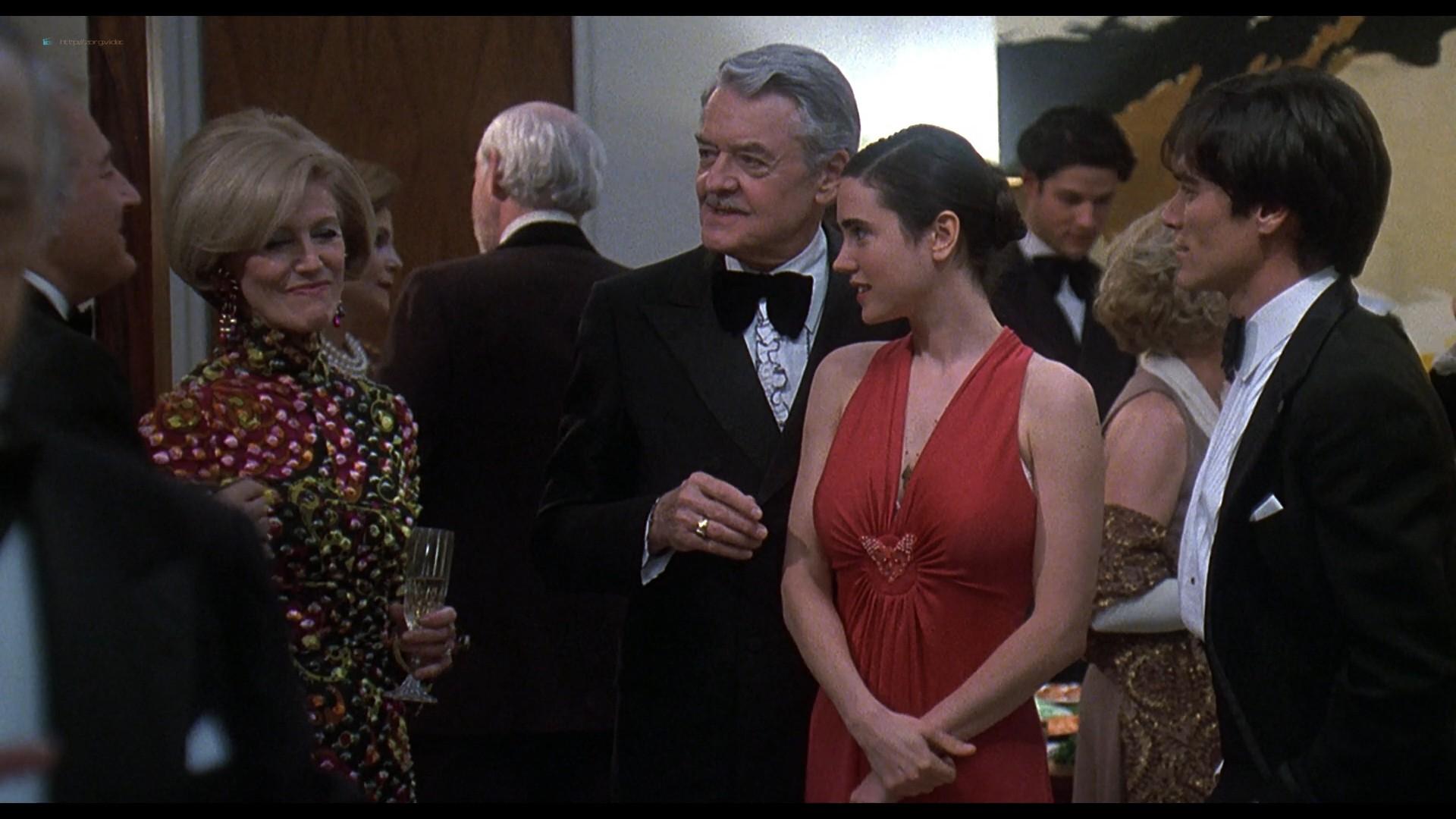 Jennifer Connelly nude side boob sex in – Waking the Dead (2000) HD 1080p BluRay (4)