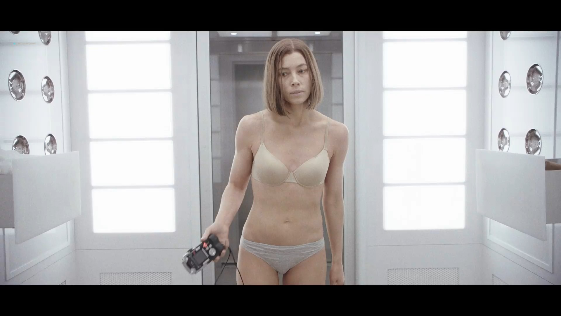 Jessica Biel hot and sexy in bra and panties- Limetown (2019) s1e5 1080p (8)
