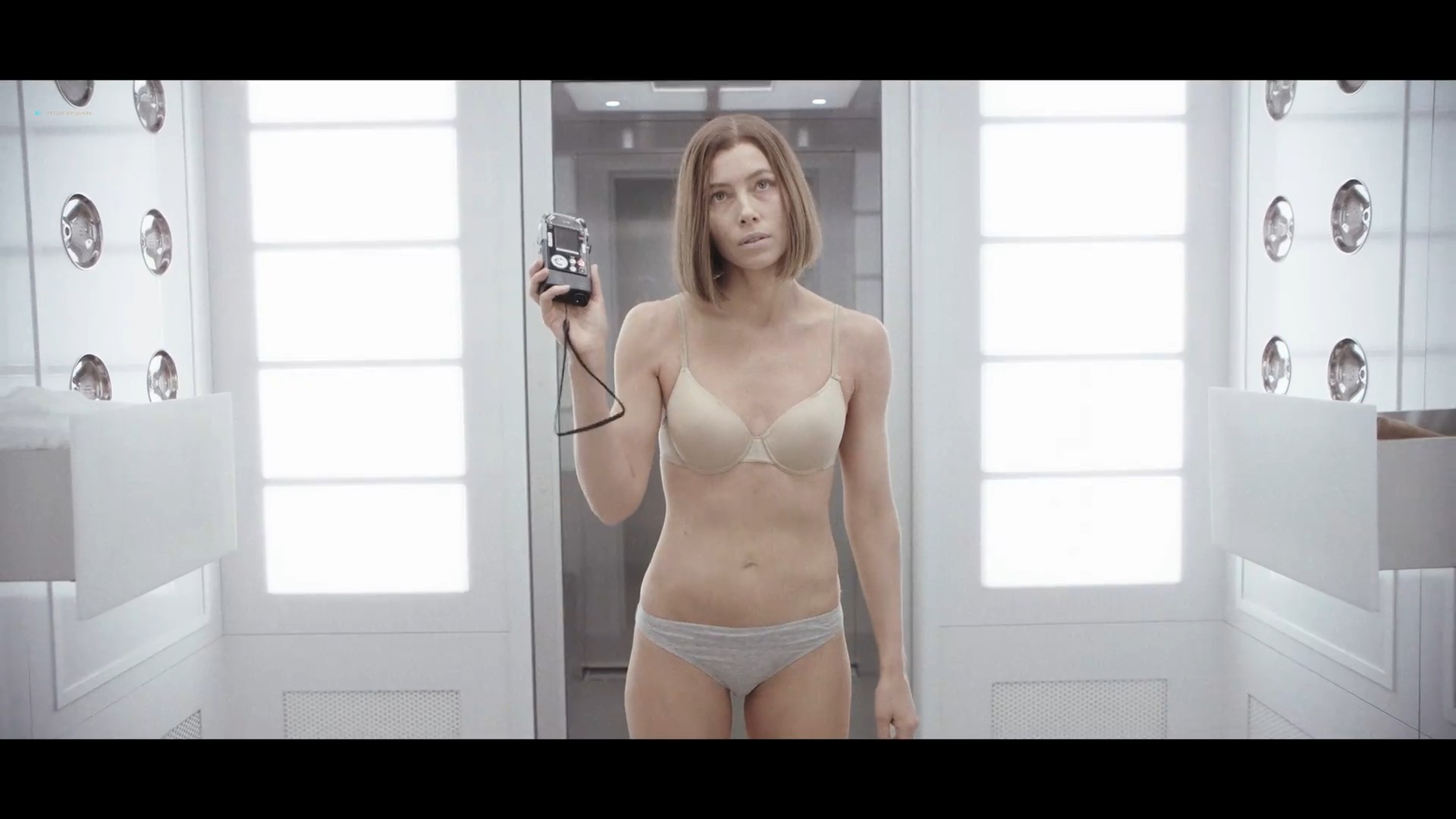 Jessica Biel hot and sexy in bra and panties- Limetown (2019) s1e5 1080p (7)