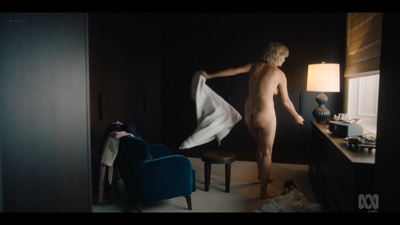 Rachel Griffiths nude bush and topless - Total Control (2019) s1e3 720p (10)