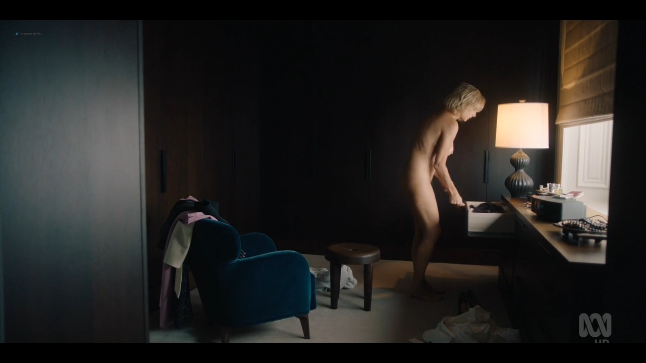 Rachel Griffiths nude bush and topless - Total Control (2019) s1e3 720p (9)