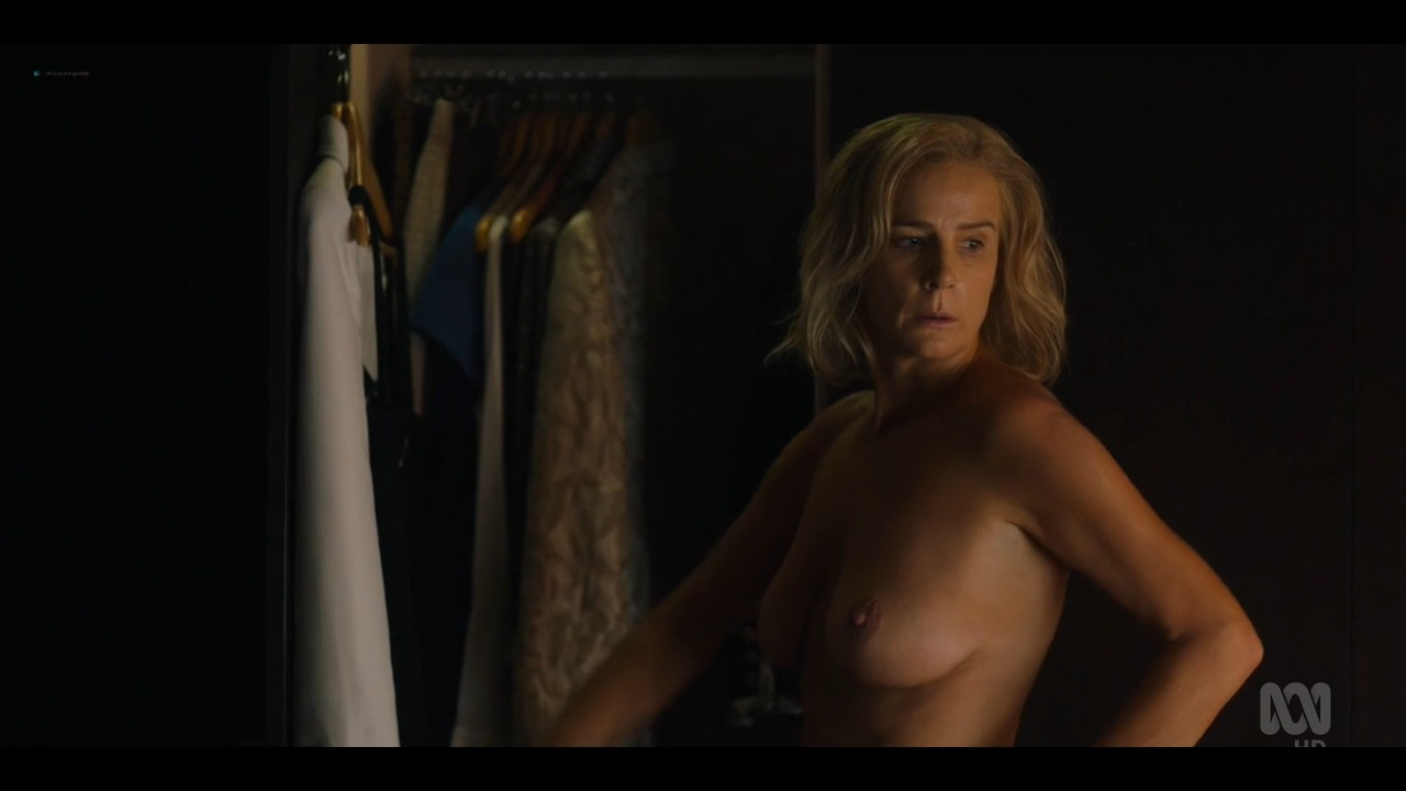 Rachel Griffiths nude bush and topless - Total Control (2019) s1e3 720p (5)
