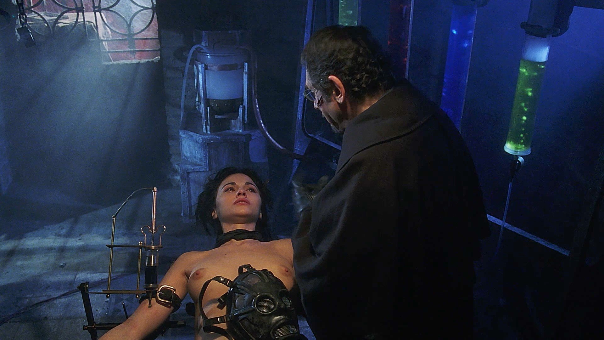 Romina Mondello nude sex and Valery Valmond nude hot sex too - The Wax Mask (1997) 1080p BluRay (3)