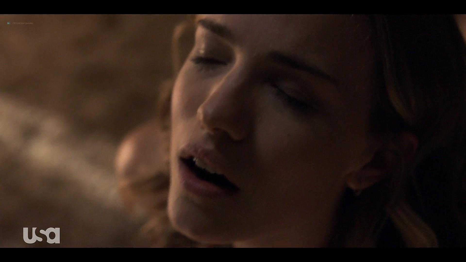 Fitzgerald hot some sex Marlo Kelly, Herizen F. Guardiola sexy - Dare Me (2019) s1e3 HD 1080p (10)