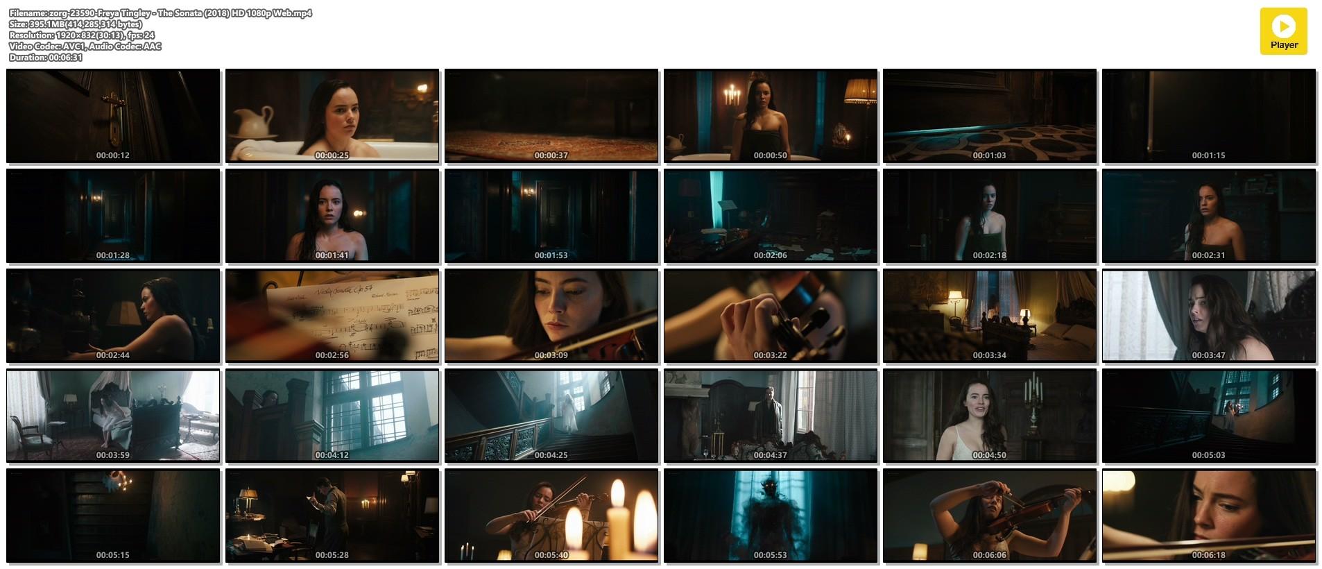 Freya Tingley hot and sexy - The Sonata (2018) HD 1080p Web (1)