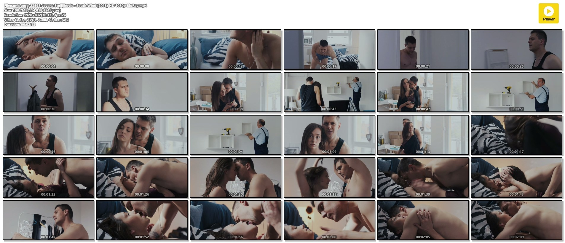 Jovana Stojiljkovic nude hot sex - South Wind (2018) HD 1080p BluRay (1)