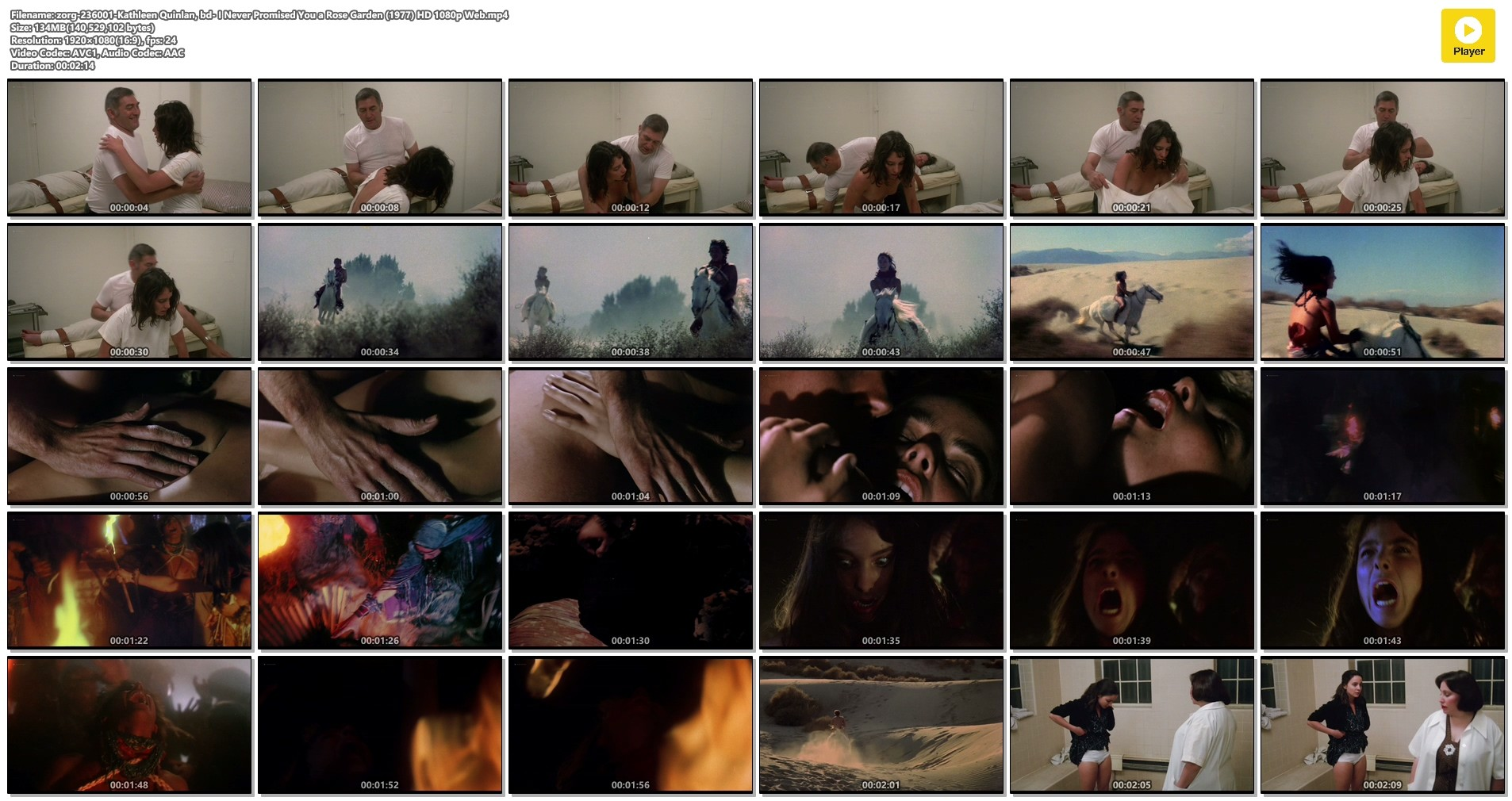 Kathleen Quinlan nude topless - I Never Promised You a Rose Garden (1977) HD 1080p Web (1)