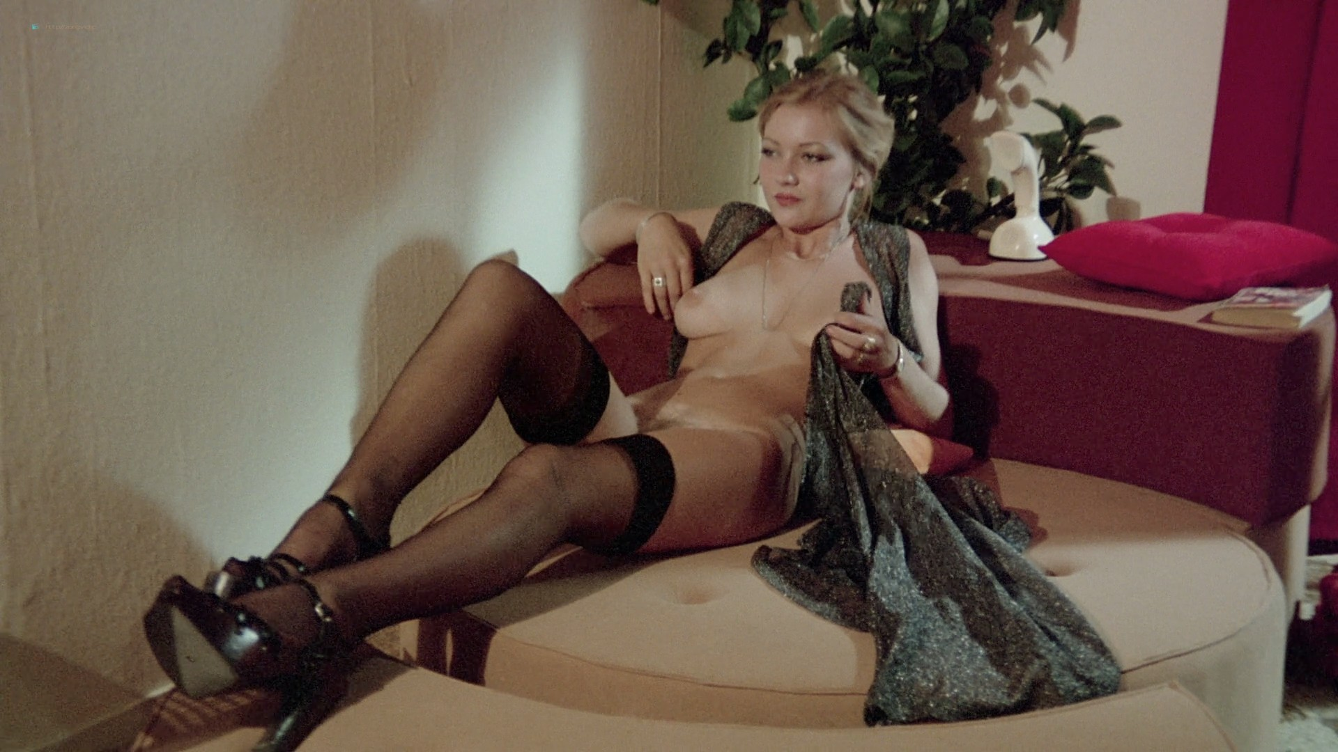 Lina Romay nude explicit Martine Stedil bush labia other nude - Downtown (1975) HD 1080p BluRay (r) (7)