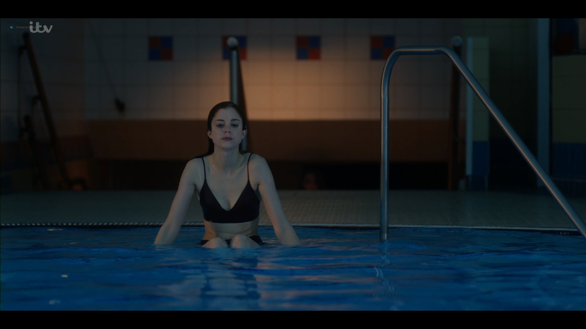 Charlotte Hope nude and sex in the pool - Bancroft (2019) s2e1 HD 1080p (15)