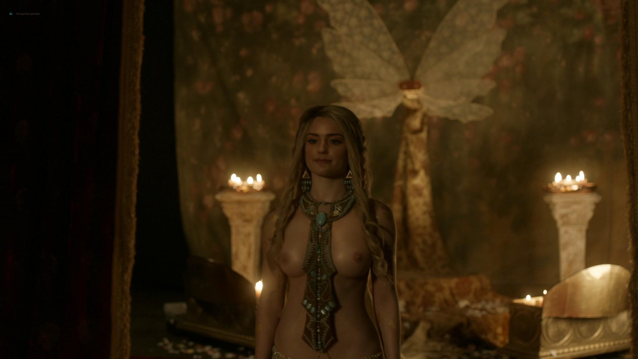 Alicia Agneson nude topless - Vikings (2020) s6e10 HD 1080p (7)