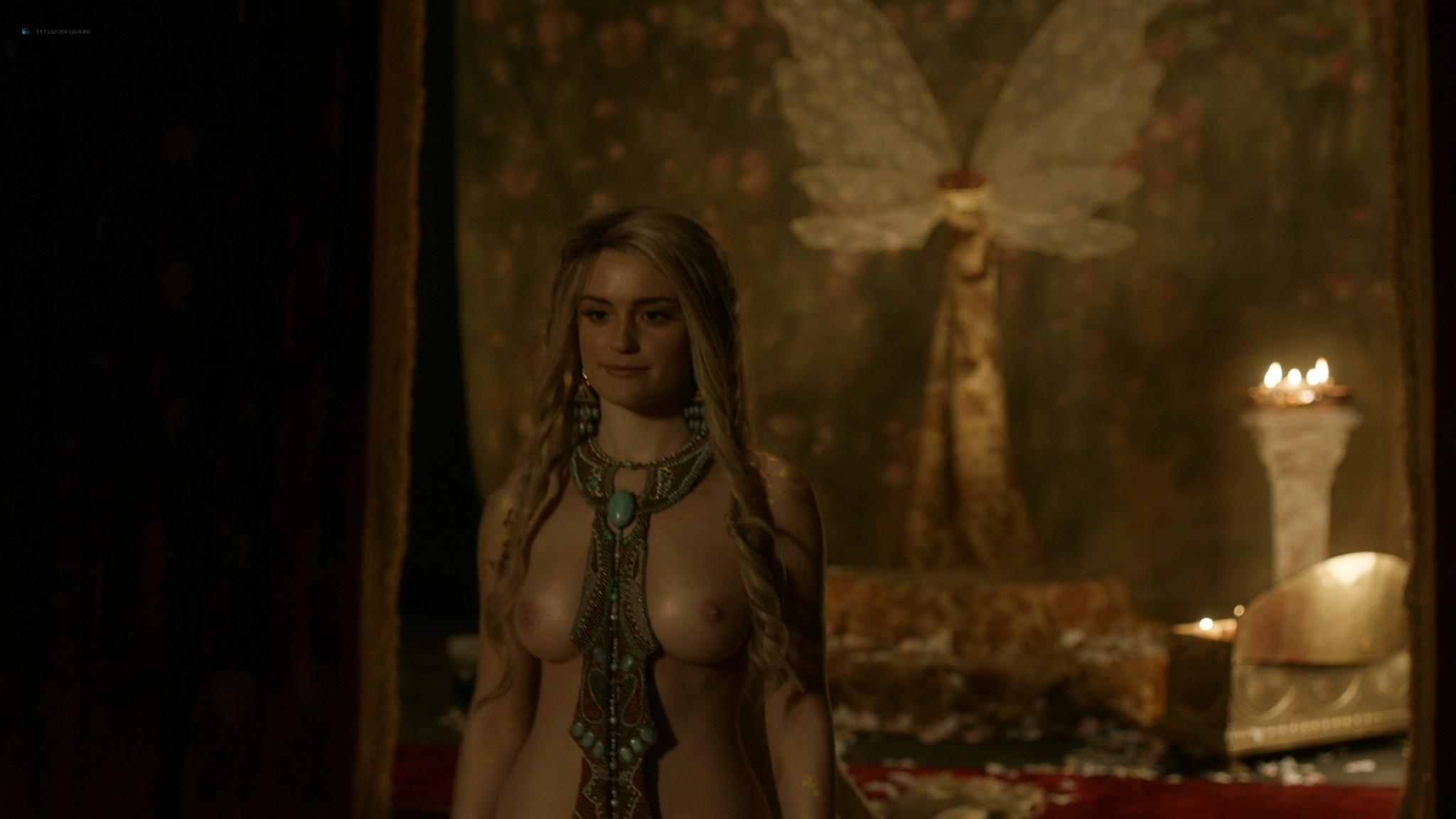Alicia Agneson nude topless - Vikings (2020) s6e10 HD 1080p (6)