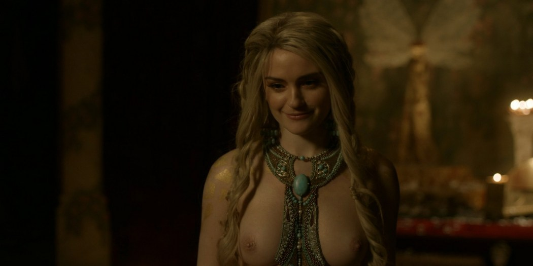 Alicia Agneson nude topless - Vikings (2020) s6e10 HD 1080p (4)