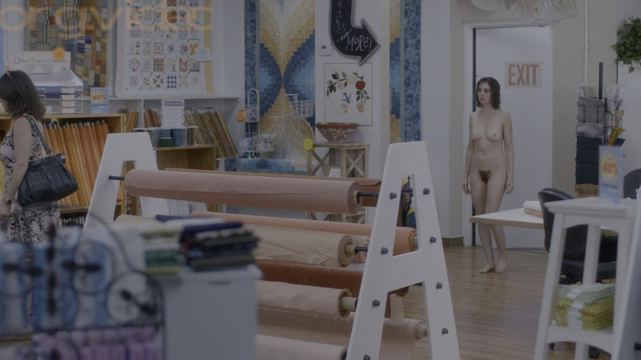 Alison Brie nude full frontal (11)