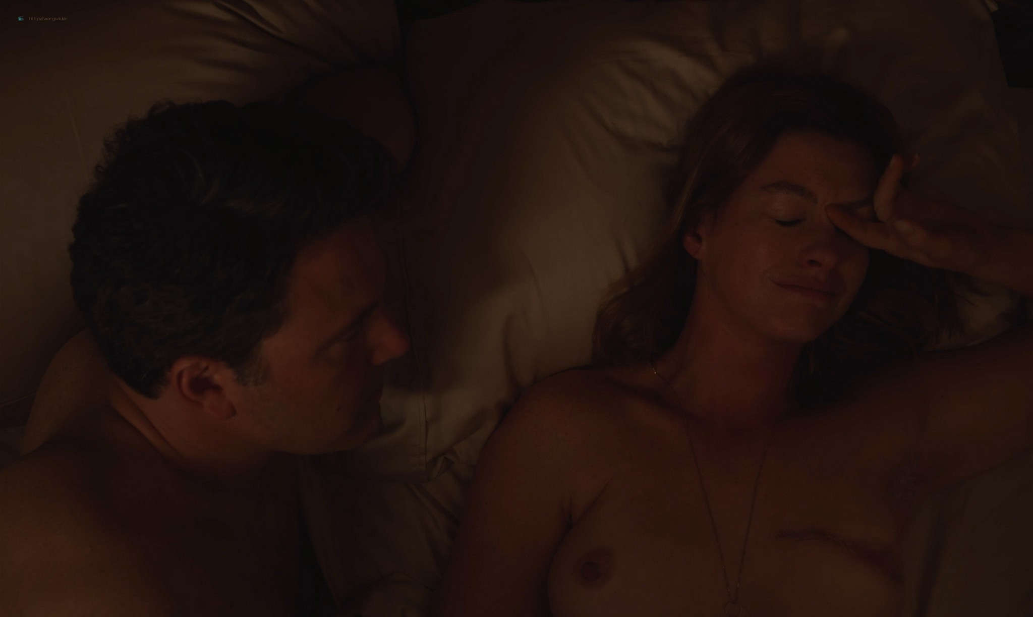 Anne Hathaway nude topless - The Last Thing He Wanted (2020) HD 1080p Web (5)