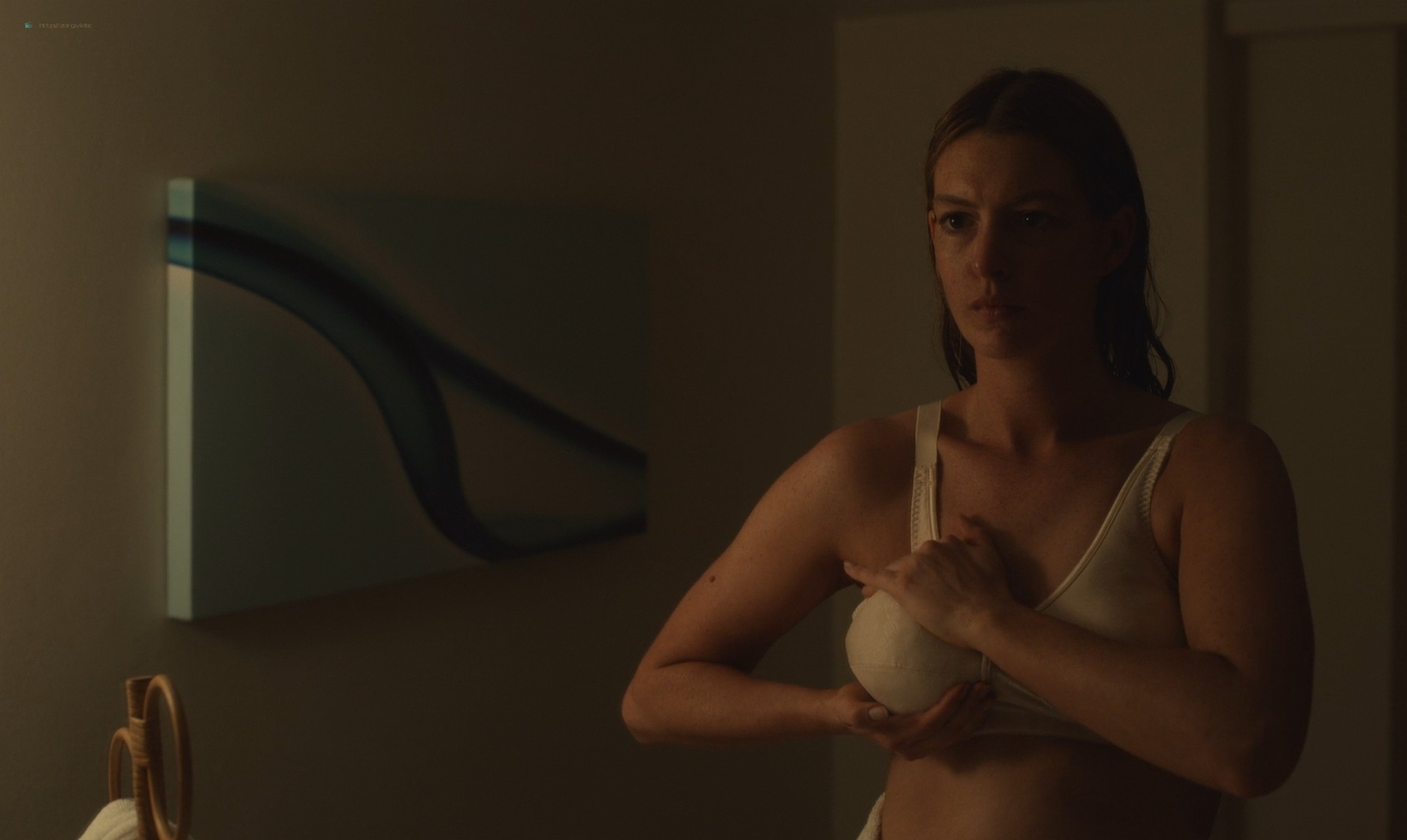 Anne Hathaway nude topless - The Last Thing He Wanted (2020) HD 1080p Web (2)