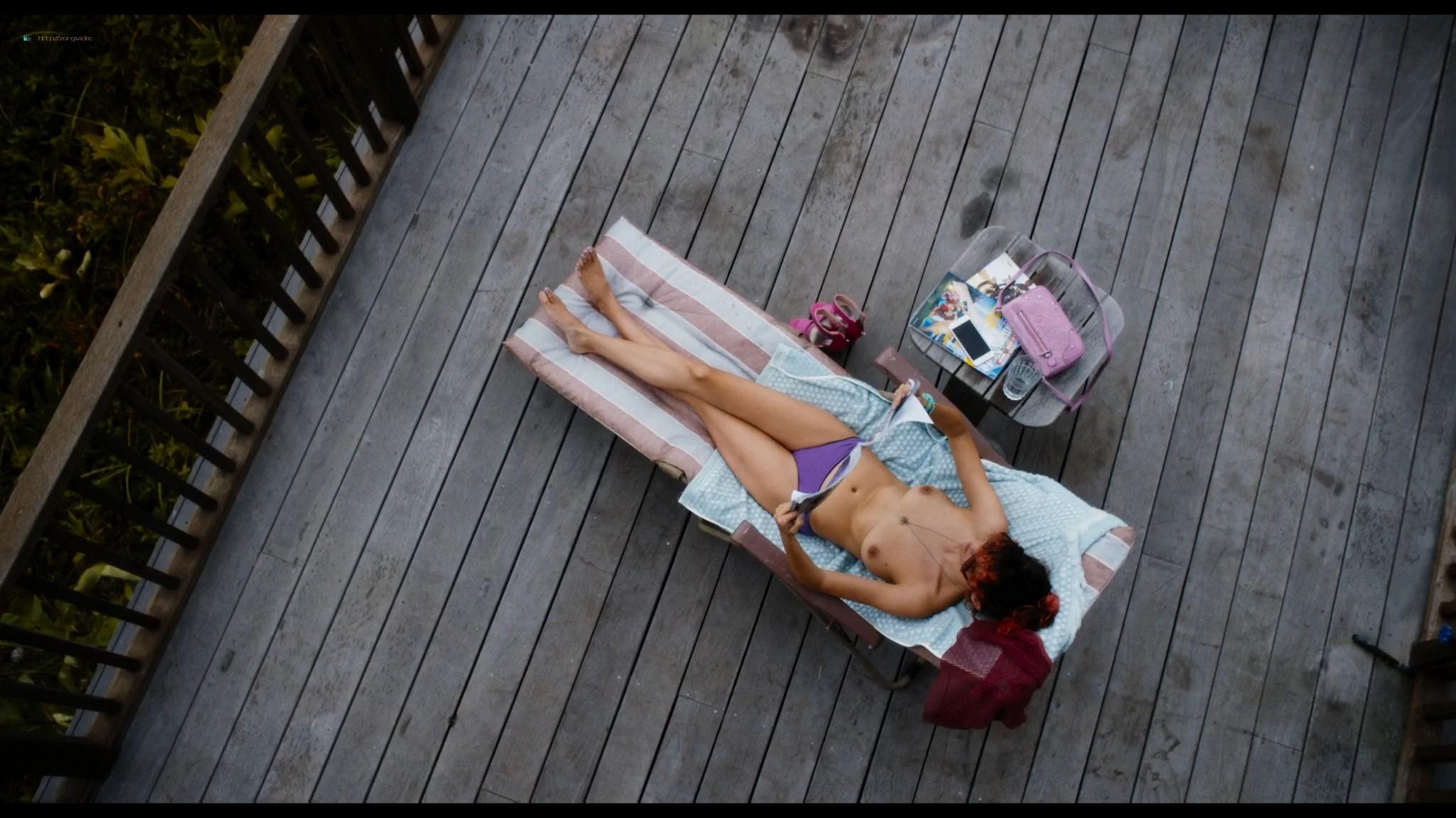 Audrey Tautou nude sex Susan Sarandon threesome - The Jesus Rolls (2019) HD 1080p Web (14)