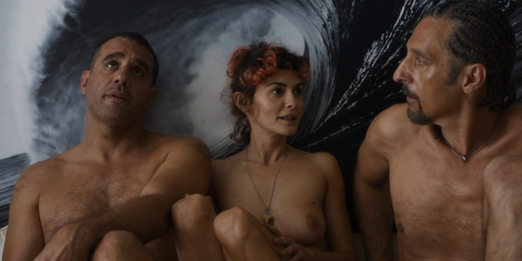 Audrey Tautou nude sex Susan Sarandon threesome - The Jesus Rolls (2019) HD 1080p Web (7)