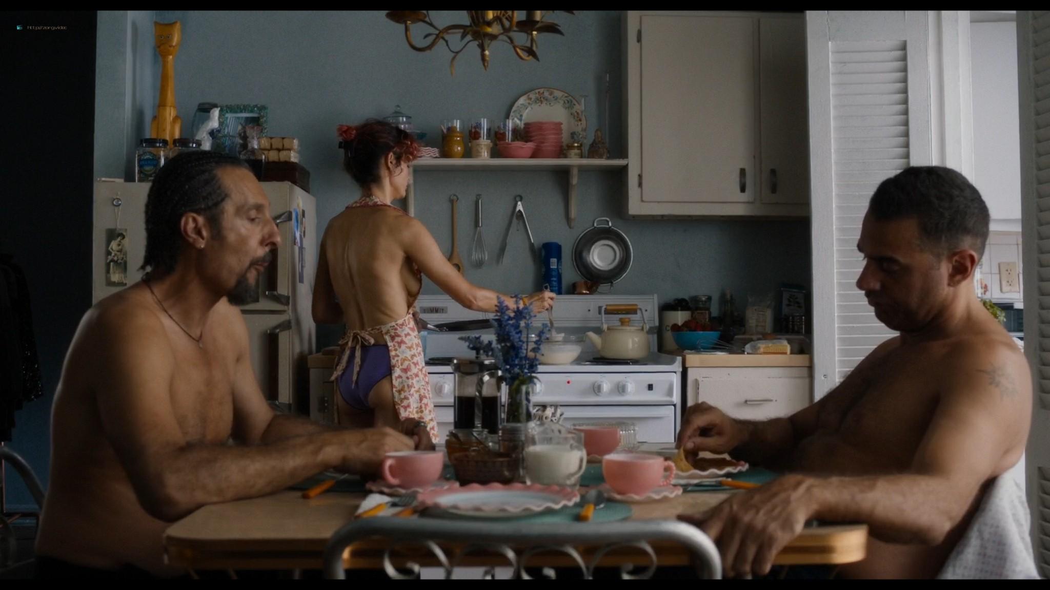 Audrey Tautou nude sex Susan Sarandon threesome - The Jesus Rolls (2019) HD 1080p Web (6)