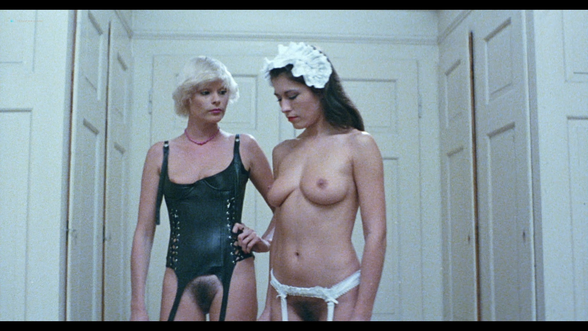 Brigitte Lahaie nude Karine Gambier, Nadine Pascal nude sex - Secrets of a French Maid (1980) HD 1080p BluRay (r) (6)