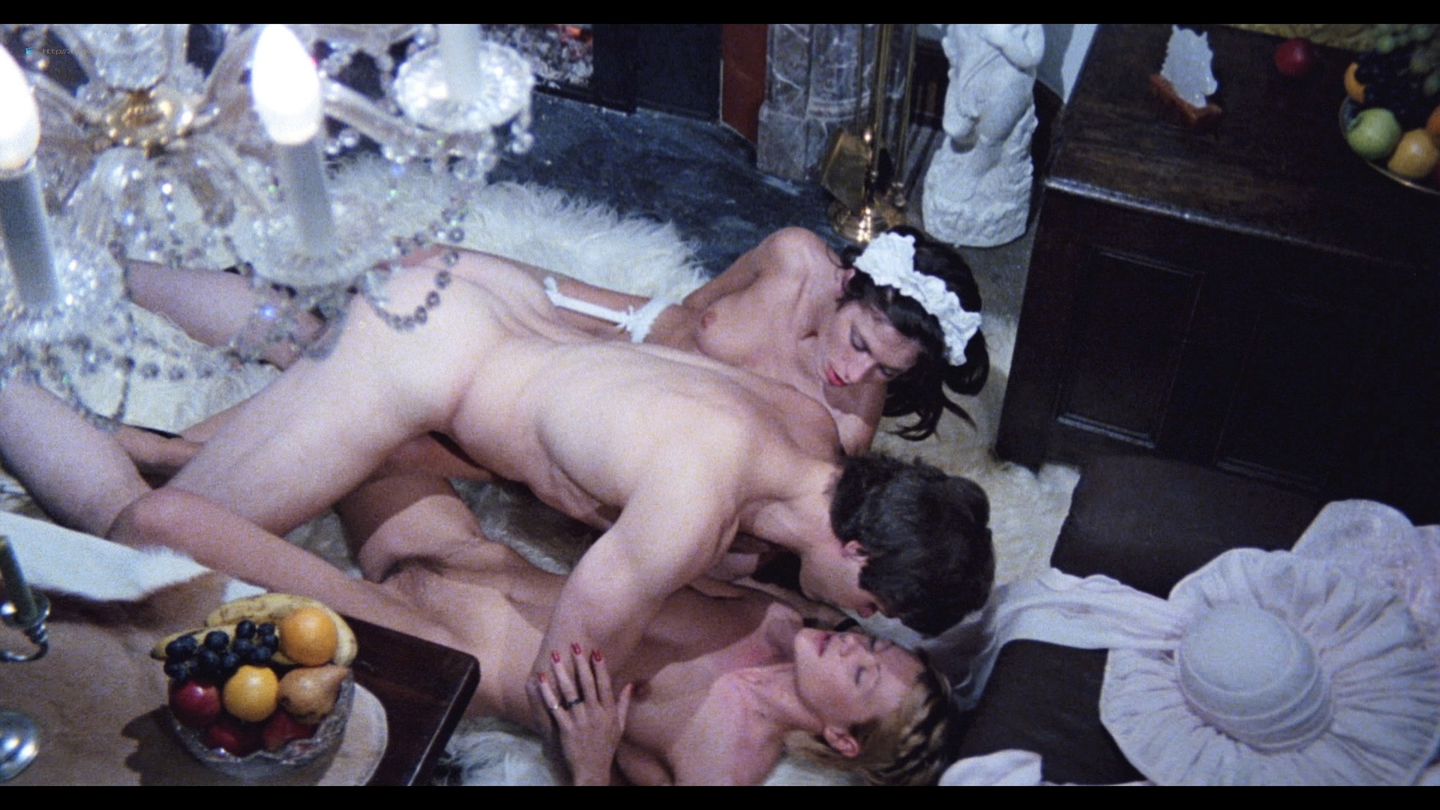 Brigitte Lahaie nude Karine Gambier, Nadine Pascal nude sex - Secrets of a French Maid (1980) HD 1080p BluRay (r) (2)