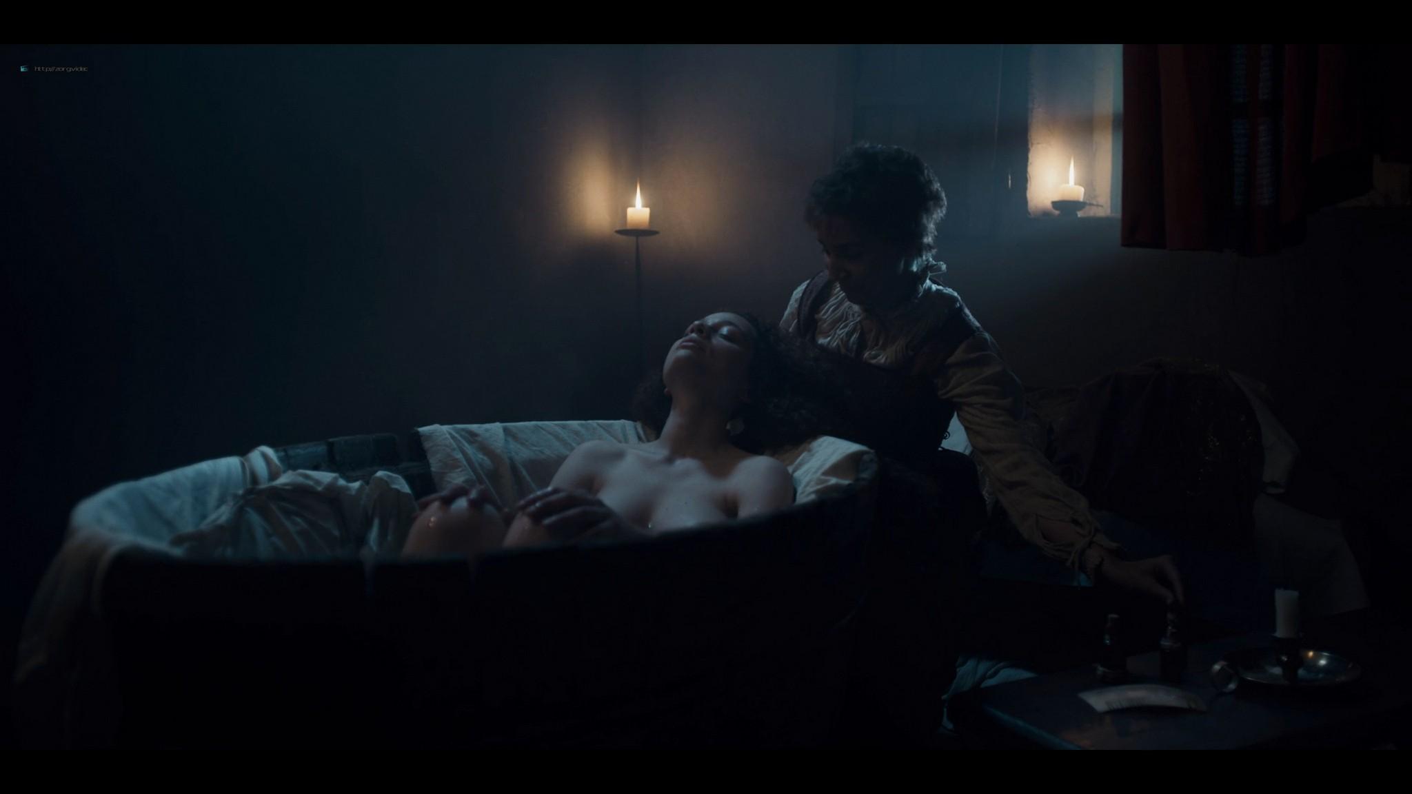 Nina Fotaras nude topless Lucrezia Guidone and others hot - Luna Nera (2020) S1 HD 1080p (9)