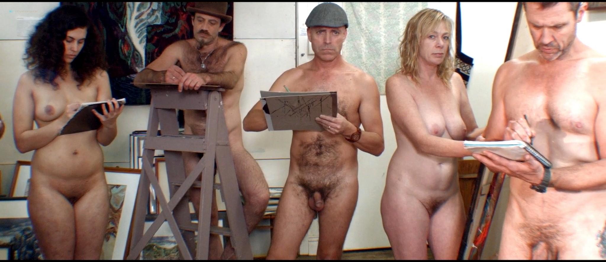 Saara Lamberg nude Jenni Mitchell, April Garreffa nude too - Innuendo (2017) HD 1080p Web (8)