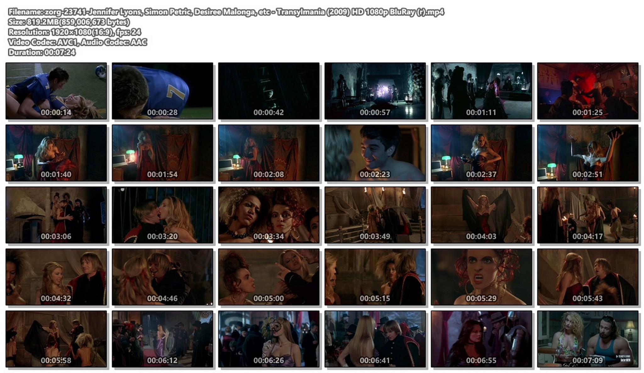 Jennifer Lyons hot Simon Petric, Desiree Malonga and others nude - Transylmania (2009) HD 1080p BluRay (r) (1)