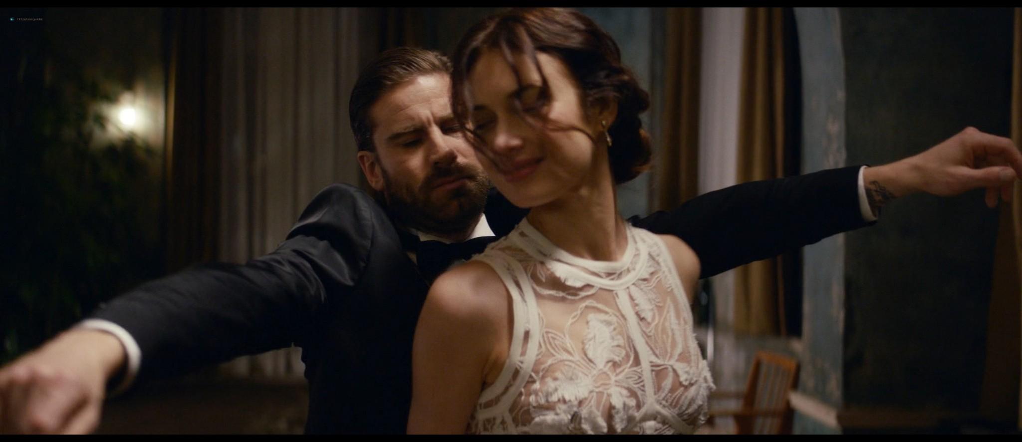Olga Kurylenko hot and sexy in The Room (2019) HD 1080p BluRay (16)