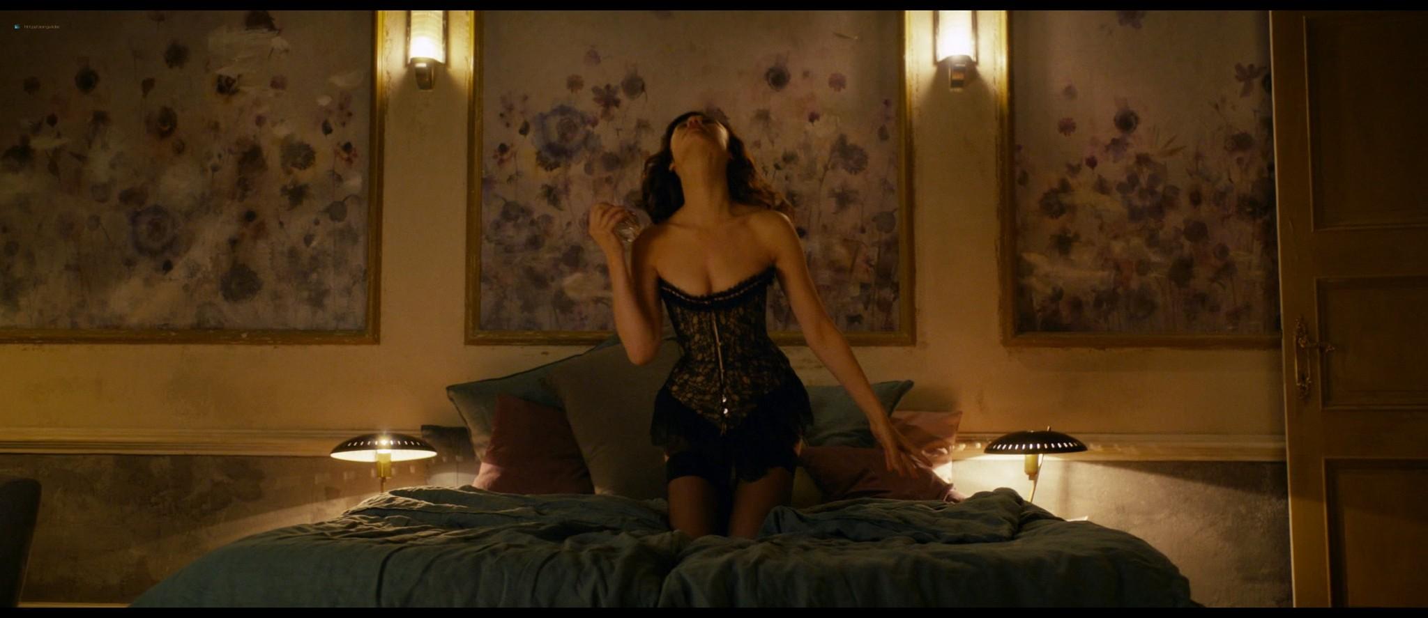 Olga Kurylenko hot and sexy in The Room (2019) HD 1080p BluRay (12)