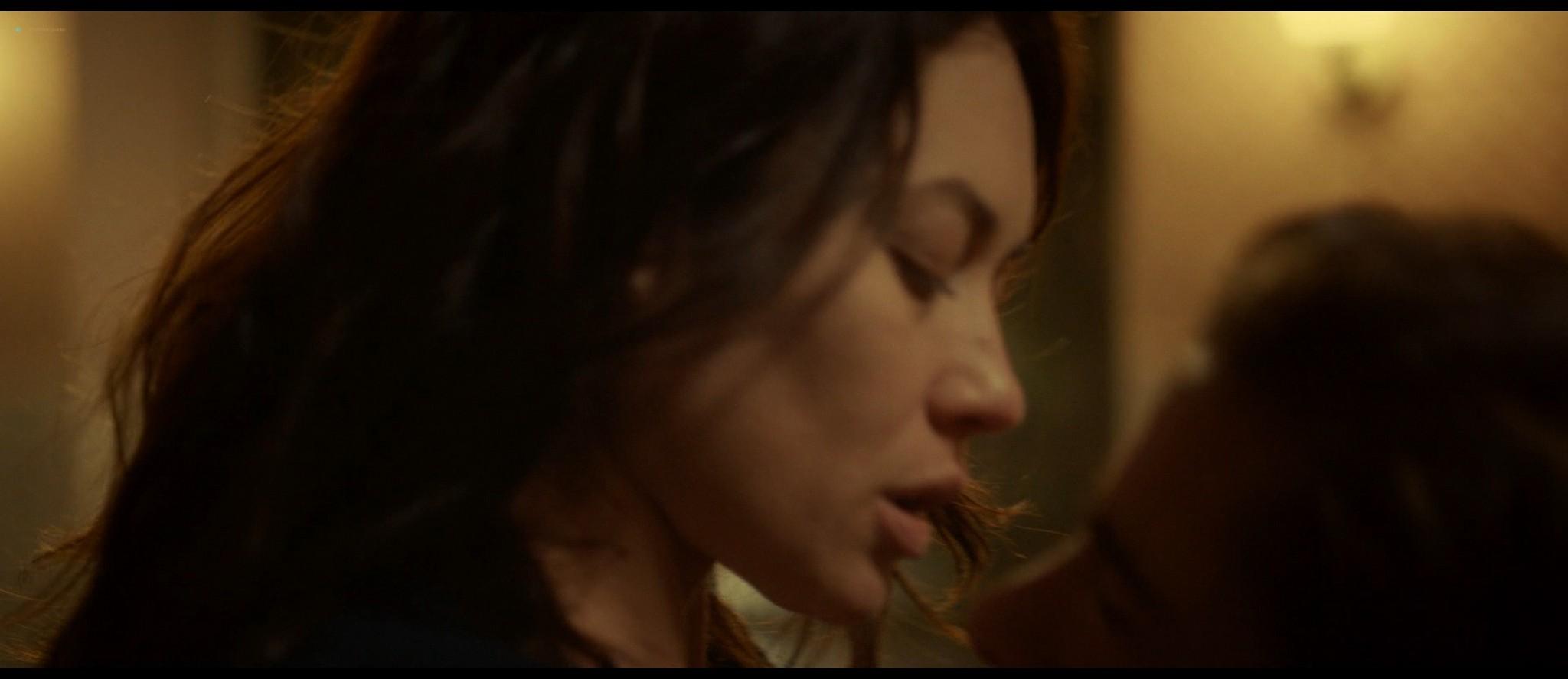 Olga Kurylenko hot and sexy in The Room (2019) HD 1080p BluRay (3)