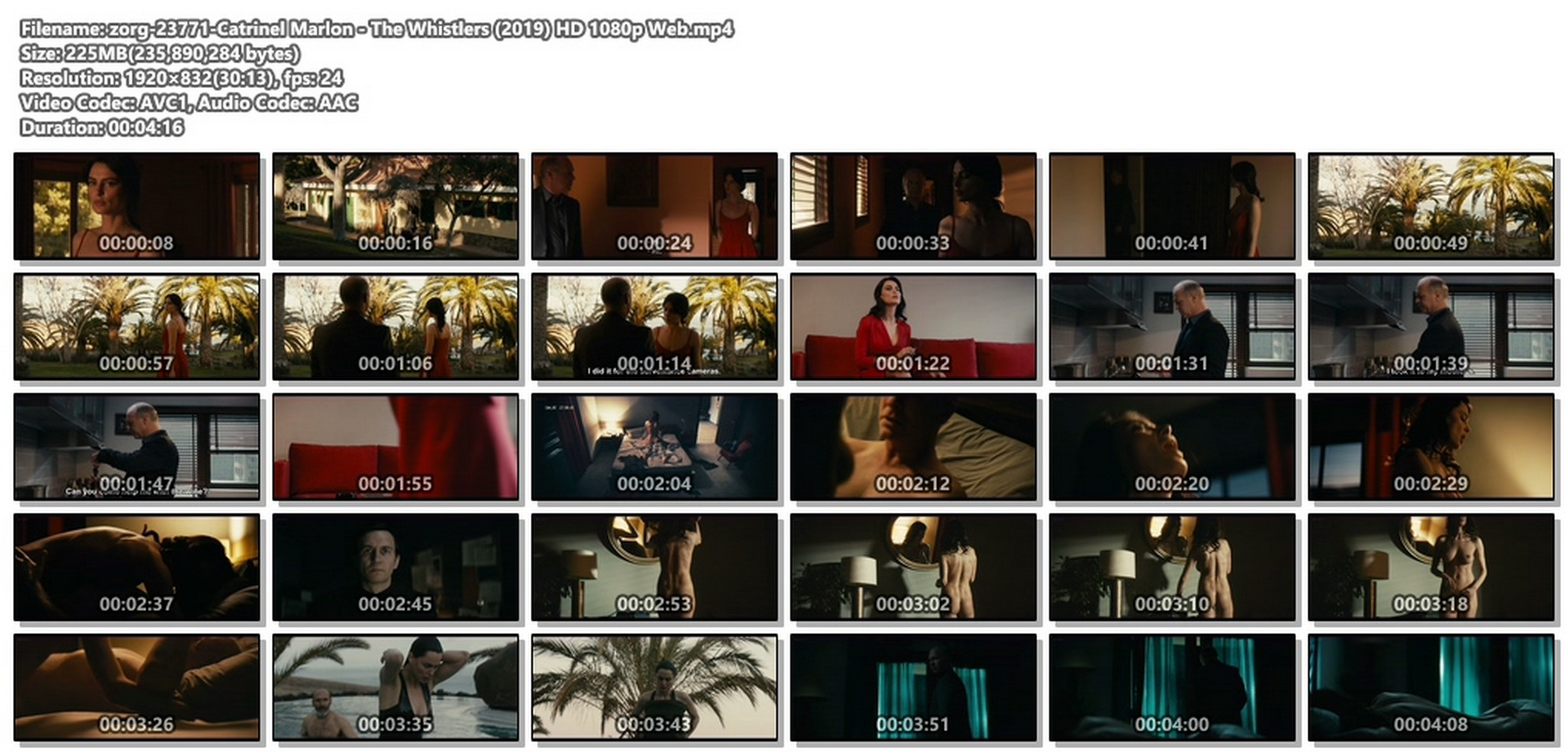 Catrinel Marlon nude butt and sex- The Whistlers (2019) HD 1080p Web (1)