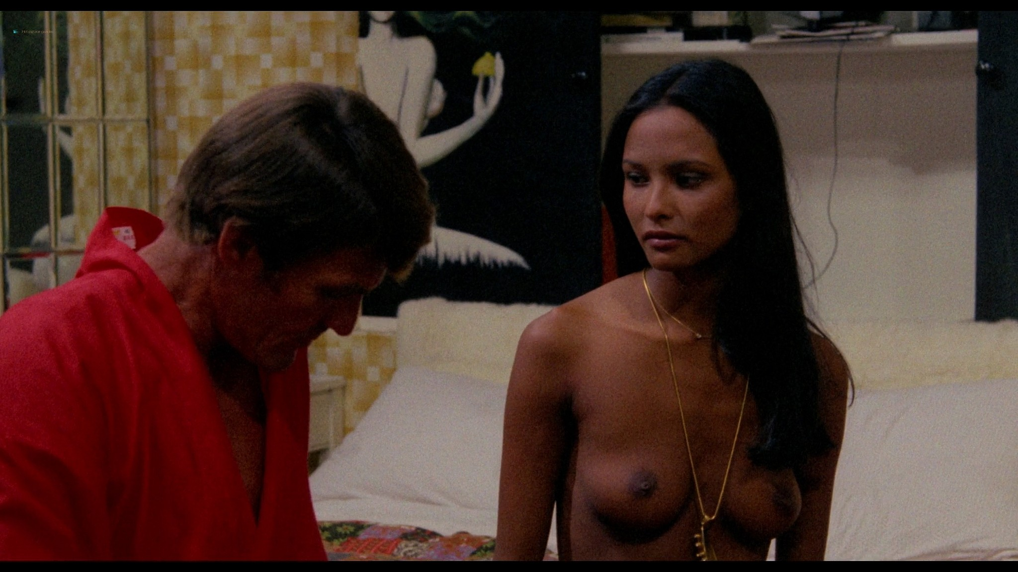 Laura Gemser nude full frontal other nude explicit sex - Emanuelle in America (1976) HD 1080p BluRay (3)