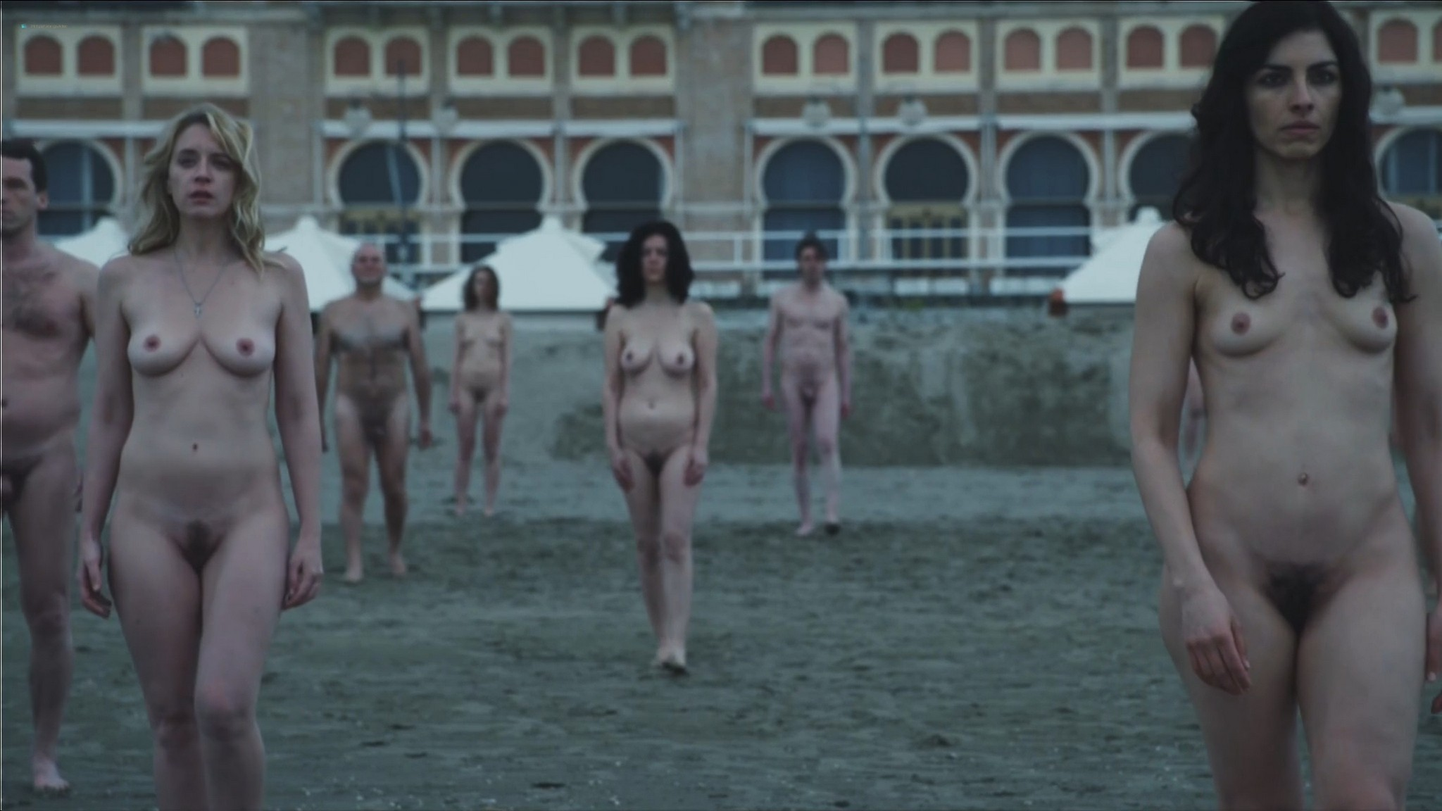 Ludivine Sagnier nude full frontal Yulia Snigir, Chiara Mocci, Daria Baykalova nude - New P0pe (2019) s1e7-9 HD 1080p (14)