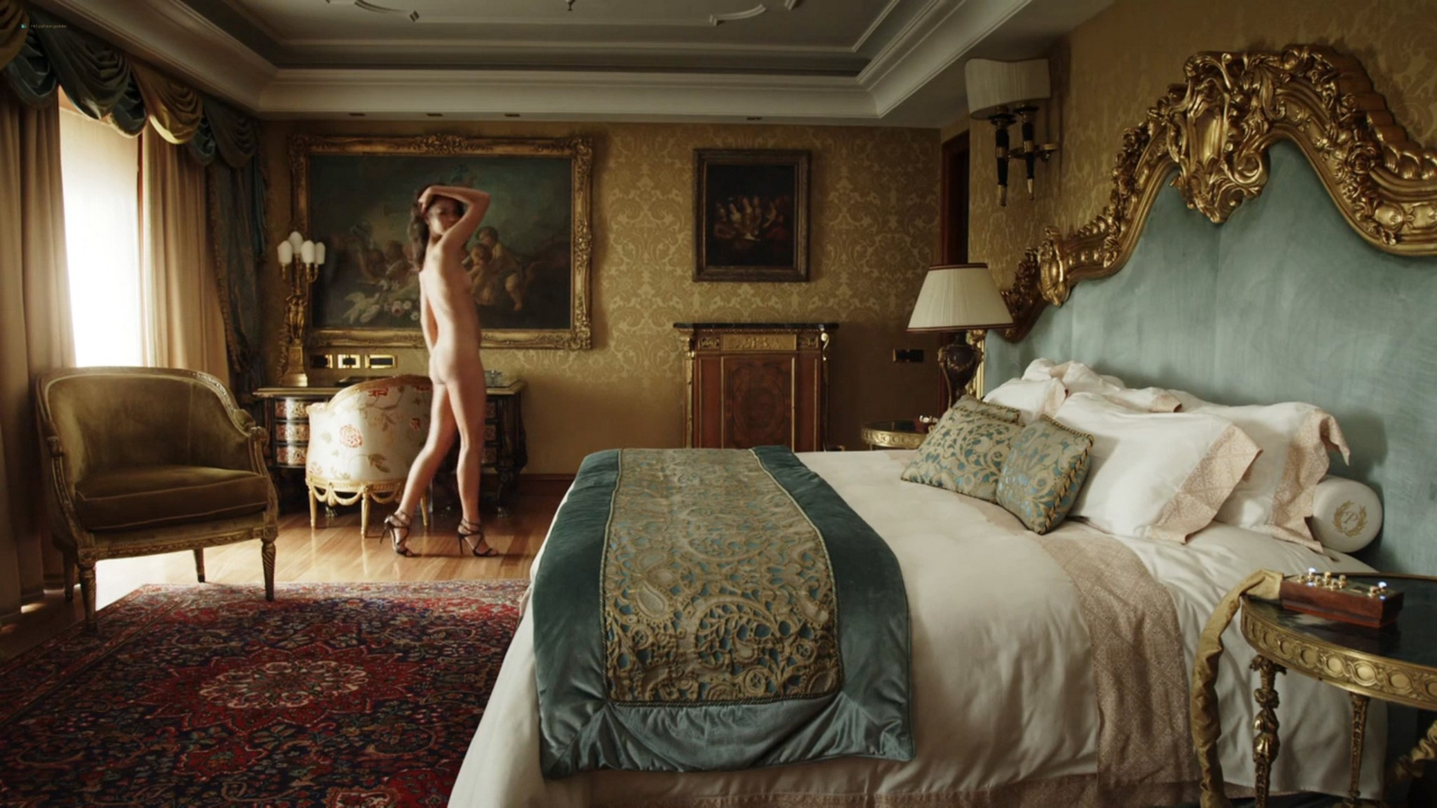 Ludivine Sagnier nude full frontal Yulia Snigir, Chiara Mocci, Daria Baykalova nude - New P0pe (2019) s1e7-9 HD 1080p (3)