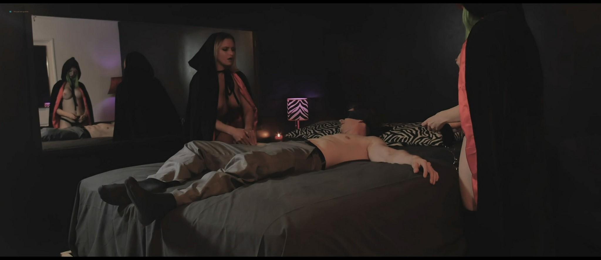 Sablique nude Fae D'Cay, Lauren Fogle nude topless - Scare Me (2016) HD 1080p Web (11)