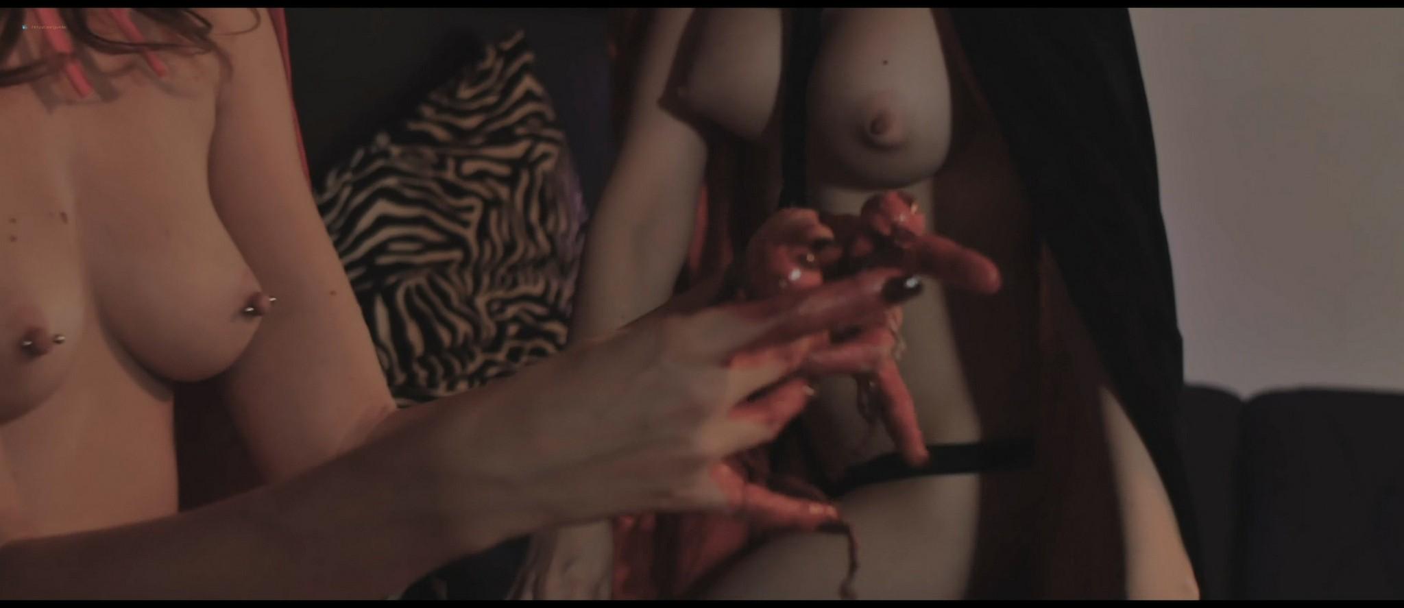 Sablique nude Fae D'Cay, Lauren Fogle nude topless - Scare Me (2016) HD 1080p Web (2)