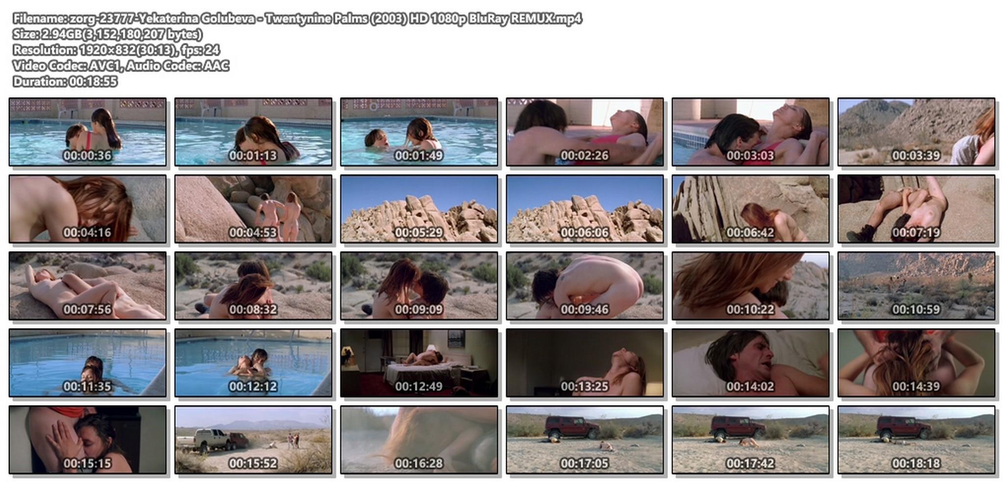 Yekaterina Golubeva nude full frontal explicit sex - Twentynine Palms (2003) HD 1080p BluRay REMUX (1)
