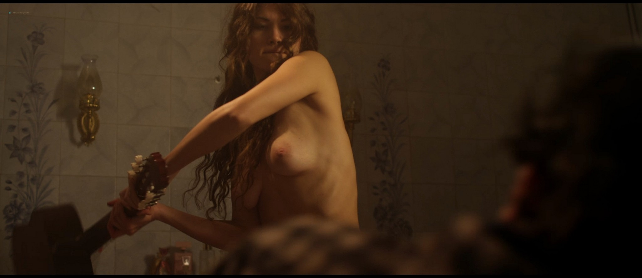 Elena Mirela nude Grazia Leone, Denny Méndez nude too - Blood Trap (2016) HD 1080p BluRay (4)